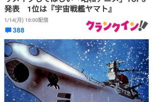 6 3 300x200 - リメイクしてほしい「昭和アニメ」TOP5…1位「宇宙戦艦ヤマト」、2位「機動戦士ガンダム」!