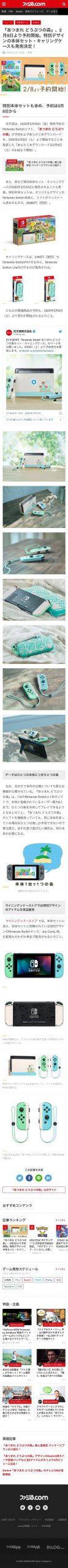 J3MoWLS scaled - 『あつまれ どうぶつの森』2月8日予約開始!特別デザインの本体セット・キャリングケースも発売決定!