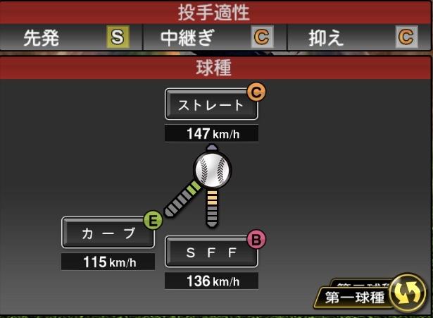 Pt0syVz - プロスピAの投手の球種とポジション適正で誰かを当てるスレ