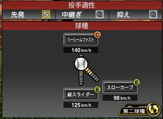 vpckaub - プロスピAの投手の球種とポジション適正で誰かを当てるスレ