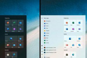 1 6 300x200 - Microsoftさん、Windows10の新しいスタートメニューを公開