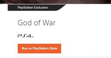 ET6ac3AXsAAsP5t 384x200 - ゴッドオブウォー、ストアページからOnly On PlayStationの表記が消える PCでも発売か?
