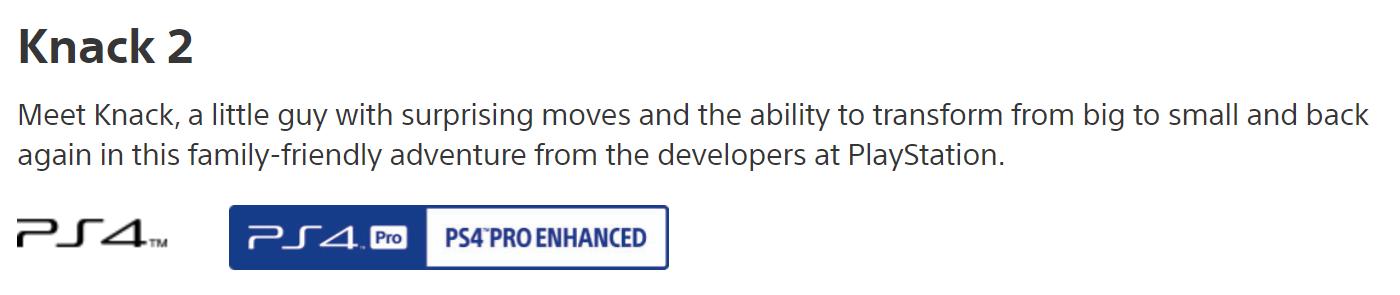 Jn3TkJZ - 【朗報】天才サーニー開発「ナック2」、ストアページから「Only On PlayStation」の表記が消える