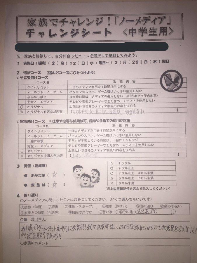 NzjDtXS - 【ゲームは1日1時間】香川、ゲーム依存防止条例可決の見通し パブコメでは8割以上が賛成