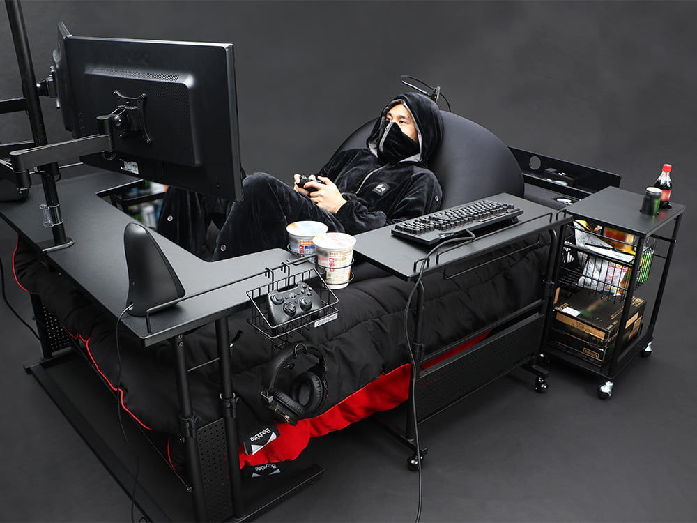 concept gaming bed 5 - 日本製の「ゲーミングベッド」が最強と話題