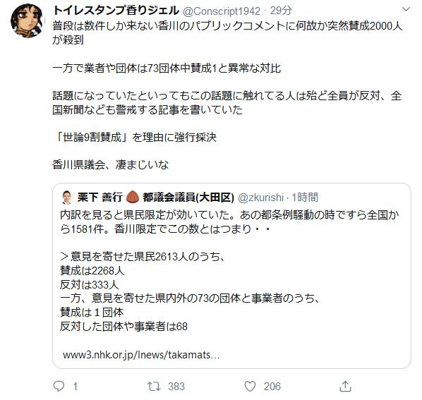 nCYHeMj - 【ゲームは1日1時間】香川、ゲーム依存防止条例可決の見通し パブコメでは8割以上が賛成
