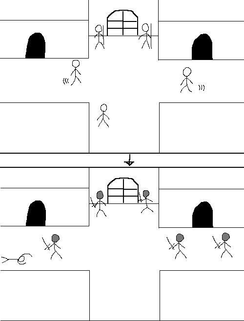 qFeB2jp - 【画像】ゲームのこういう「序盤普通に歩けたとこが敵地になる」的なシチュが好き