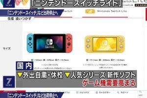 3yTmDUC 300x200 - 【速報】NHKでNintendo Switchの出荷停止のニュース