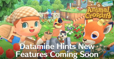 animal crossing new horizons datamine new features returning characters future update april 2020 384x200 - 【悲報】あつ森、元々あった要素をアプデ(笑)で追加する暴挙に出てしまう