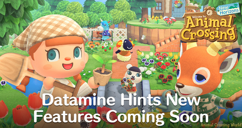 animal crossing new horizons datamine new features returning characters future update april 2020 - 【悲報】あつ森、元々あった要素をアプデ(笑)で追加する暴挙に出てしまう