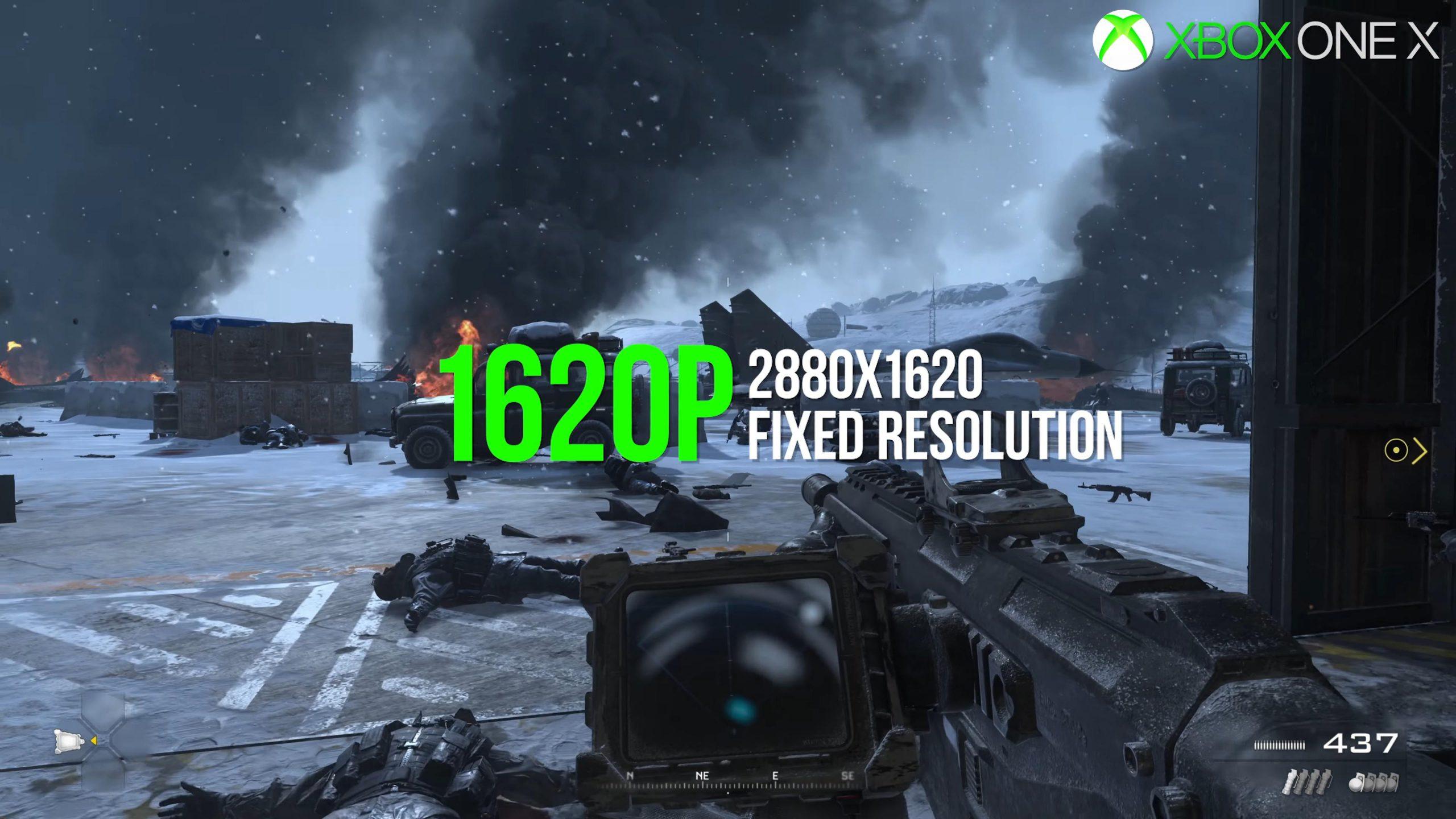1A2F4vk 1 scaled - 「CoD:MW2リマスター」Xbox One X版をPS4 Proと全く同じグラフィックにしてしまい、メディアから酷評