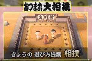 4 4 300x200 - 【国民的ゲーム】日本相撲協会×あつ森。協会公式が「あつまれ大相撲」【国技】