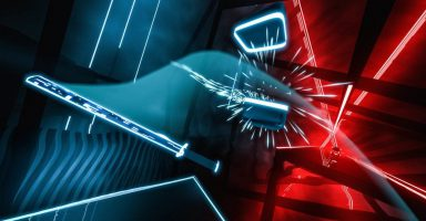 Cul oculusquest 1 6mcmIPzDb1pH8XzHz rf8A 384x200 - 【動画】 VRゲーム「Beat Saber」 コロナ禍の自宅待機でも楽しく運動できると話題