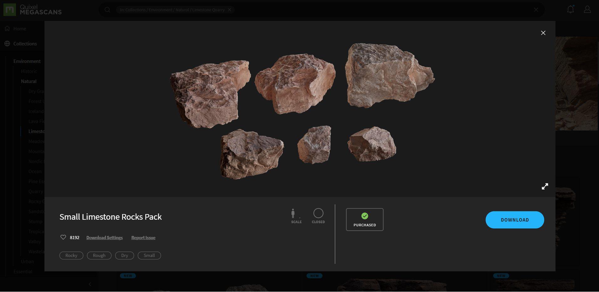 GYmR6vO - PS5デモ動画の3Dデータをダウンロードしたら、石ころだけで258MBあってワロタ