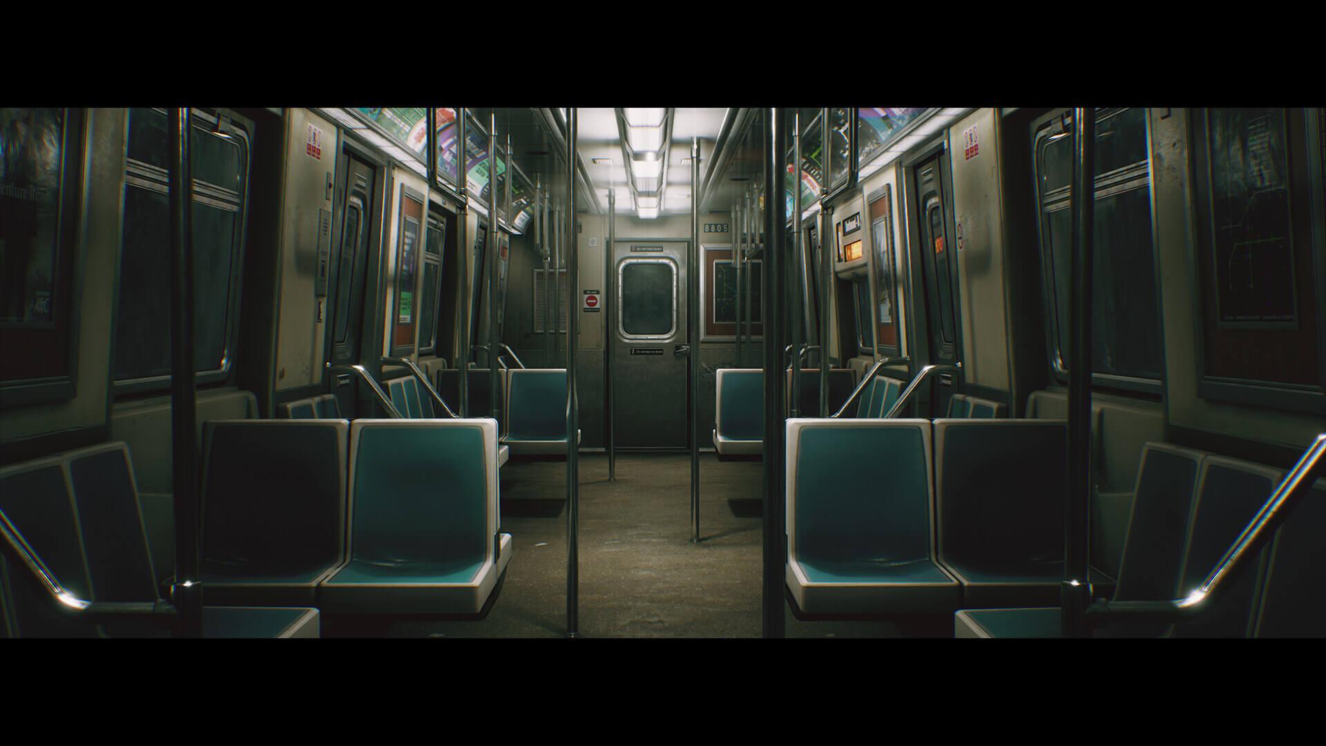 dekogon studios subwaytrain screenshot 02 - 【画像】『PS5』世代のゲームはこんな感じのグラフィックになるらしい