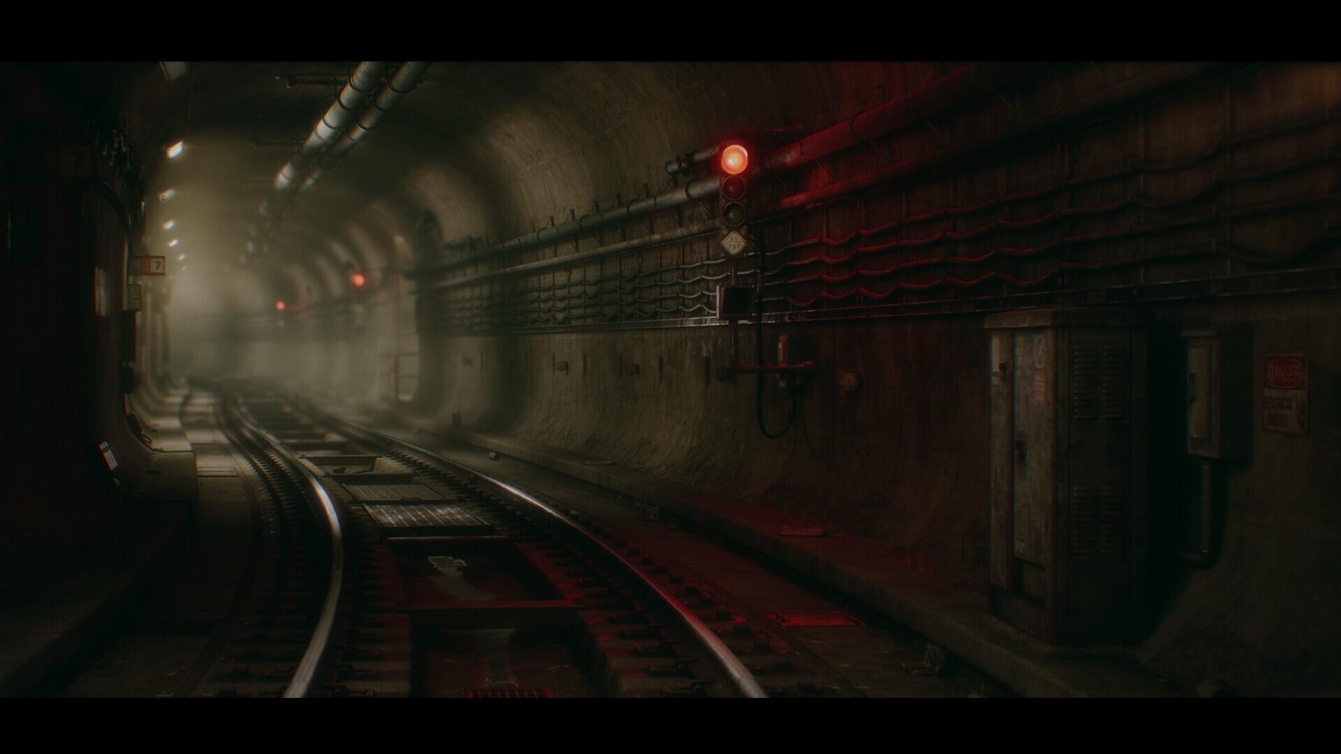 dekogon studios subwaytunnel screenshot01 - 【画像】『PS5』世代のゲームはこんな感じのグラフィックになるらしい