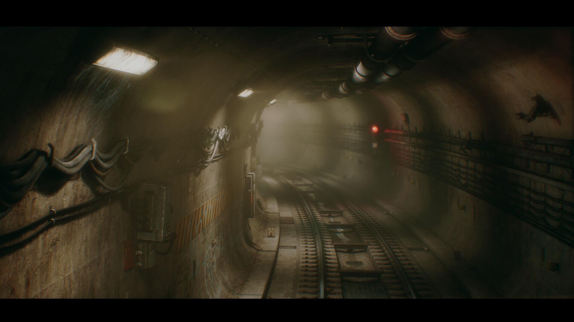 dekogon studios subwaytunnel screenshot07 - 【画像】『PS5』世代のゲームはこんな感じのグラフィックになるらしい