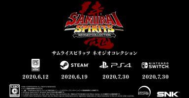i89XXfa 384x200 - 『サムライスピリッツ ネオジオコレクション』がPS4、Switch、PCで発売決定!