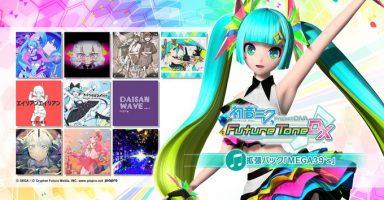 1 23 384x200 - PS4『初音ミク Project DIVA Future Tone / DX』にSwitchのMEGA39'sの曲等を拡張するDLCが3000円で!