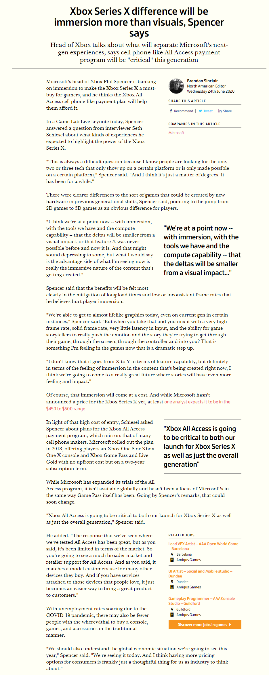 11 - フィル「次世代の肝は没入感。XSXはPSにはない数々の機能がある。PS発表会はしょぼすぎてワロタ」