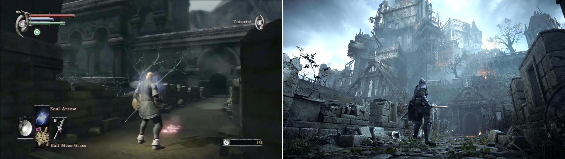 2vStNYl 1 - PS4からPS5でそれほどグラが変わってるように見えないんだけど…
