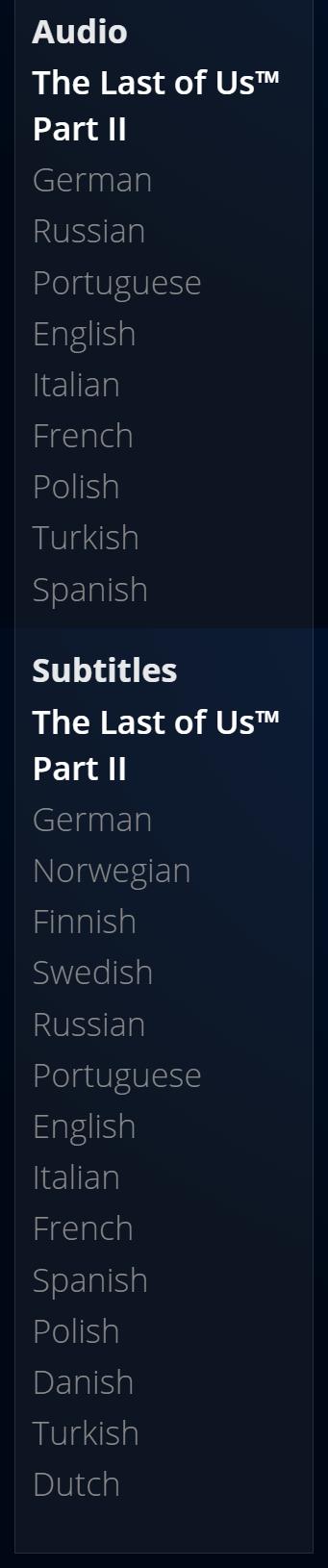 4jd4dik - 【悲報】The Last of Us Part2、なぜか日本語版だけ容量が20ギガバイト少ない…