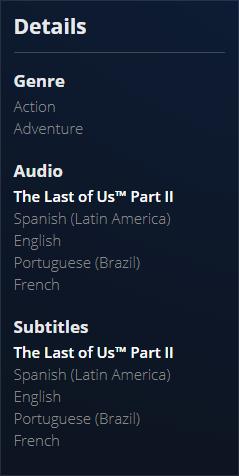 Dus1fWz - 【悲報】The Last of Us Part2、なぜか日本語版だけ容量が20ギガバイト少ない…