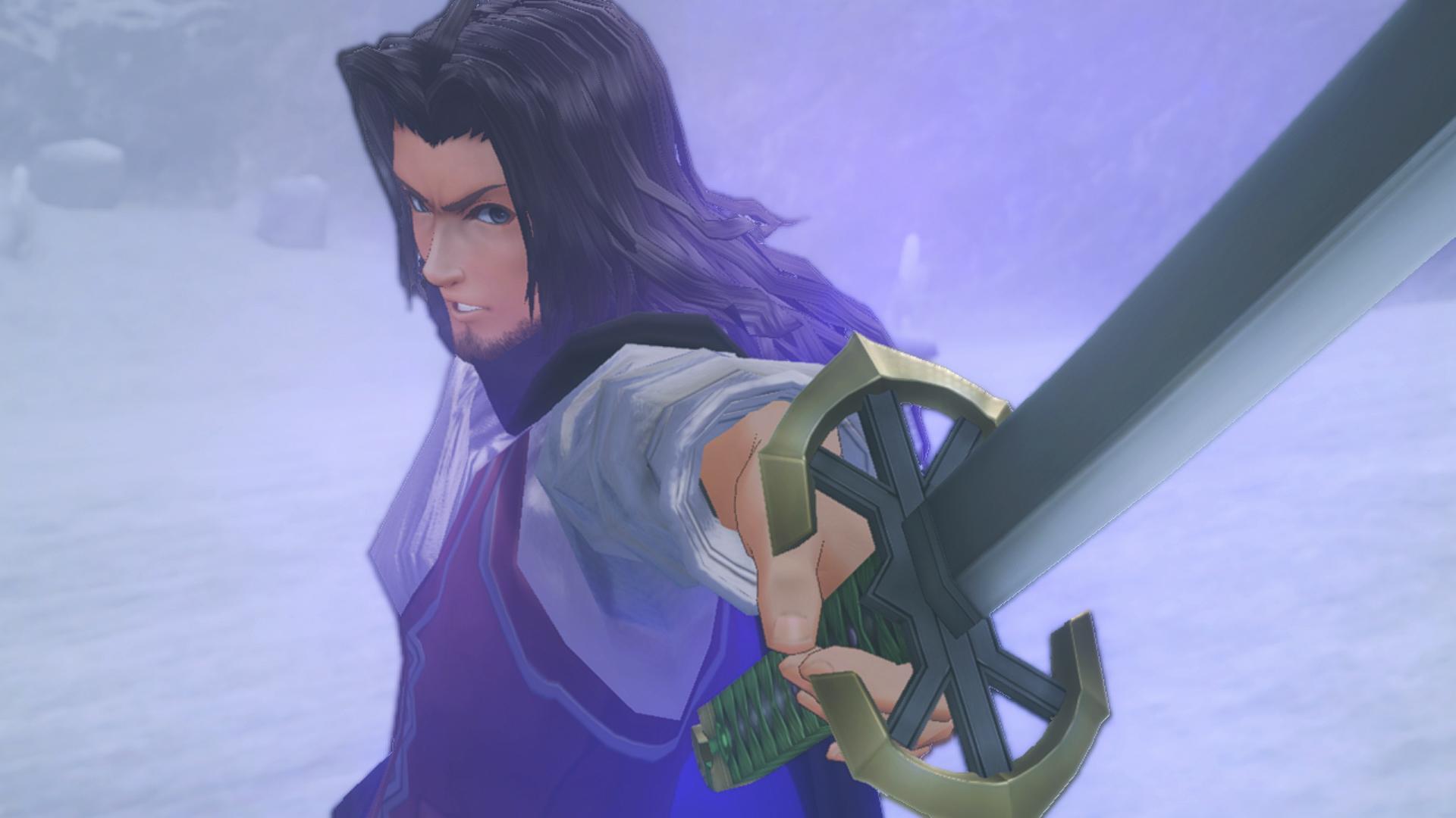 EZtWrCCUYAA8B6j - 【疑問】ゼノブレこれオープニングの剣の上まで行くの?