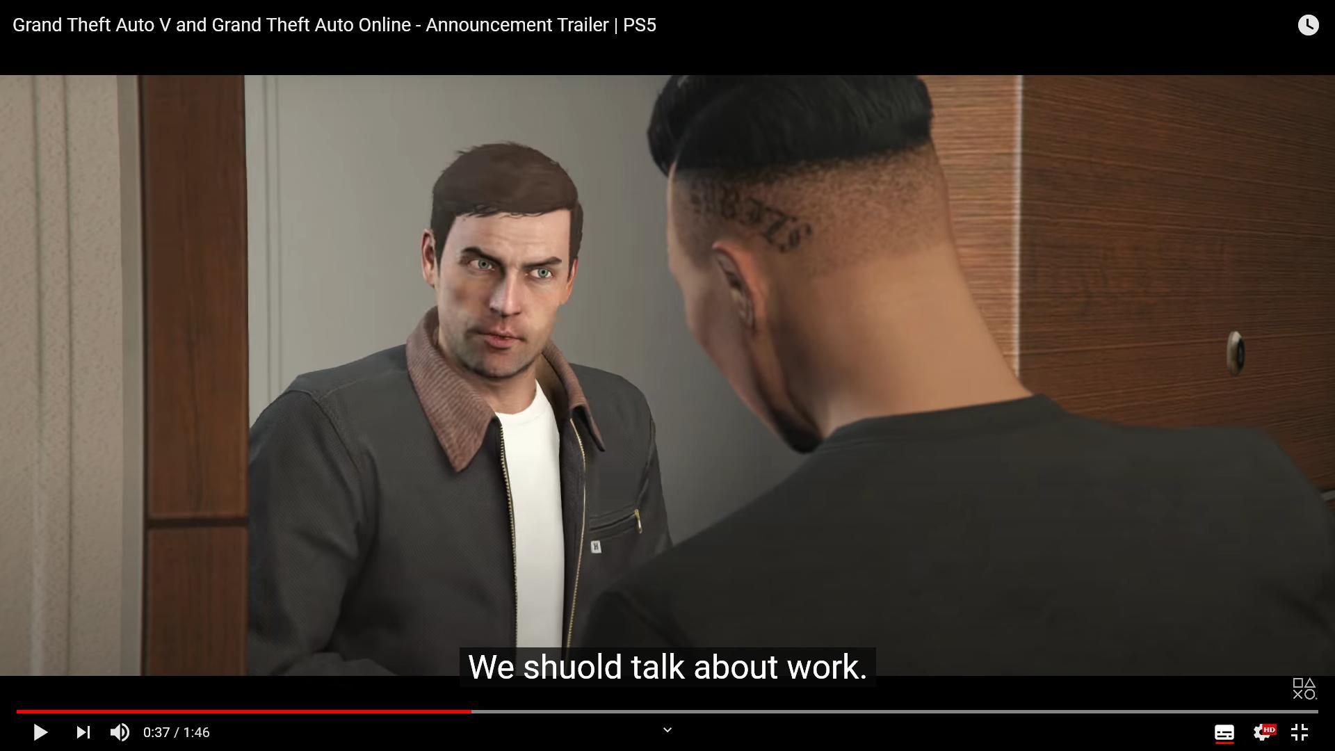 UUnS3Wm - 【悲報】PS5版GTA5のグラフィックが残念すぎると話題にwwww