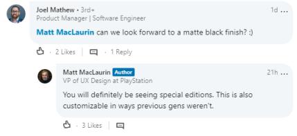 ftEtyOU - SIE「PS5本体はPS4には無かったカスタマイズが可能になる」
