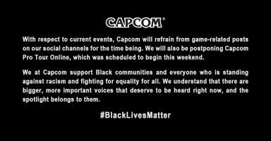 ib0jXGT 384x200 - 【速報】カプコン、black lives matter運動を支持 プロツアーは延期へ