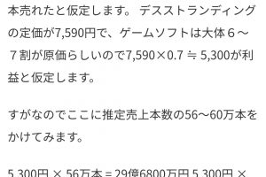 tcmDYR8 300x200 - 小島監督「デスストの売上は黒字。次の企画を準備できるだけの利益が確保出来た」