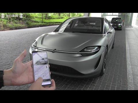 0 - 画像有:ソニーの電気自動車「VISION-S」がかっこいい