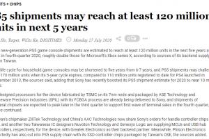 1 5 300x200 - 台湾サプライチェーン「PS5の出荷台数は5年で1.2~1.7億台になる見込み」