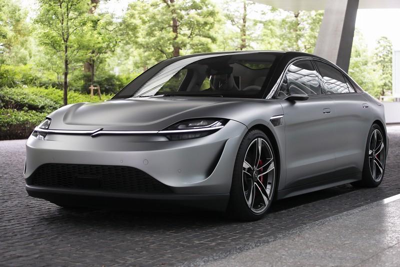 9 14 - 画像有:ソニーの電気自動車「VISION-S」がかっこいい