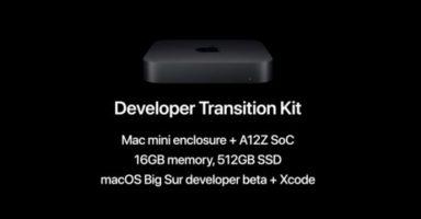 Developer Transition Kit 00001 z 1 384x200 - まだSandy Bridge使ってるヤツいる?それARM macのx86エミュより遅いからもう捨てろ