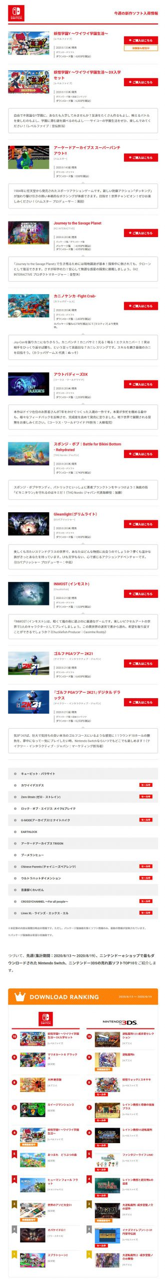 1 2 3 scaled - 【任天堂】今週のeショップランキング 2020/8/13 ~ 2020/8/19