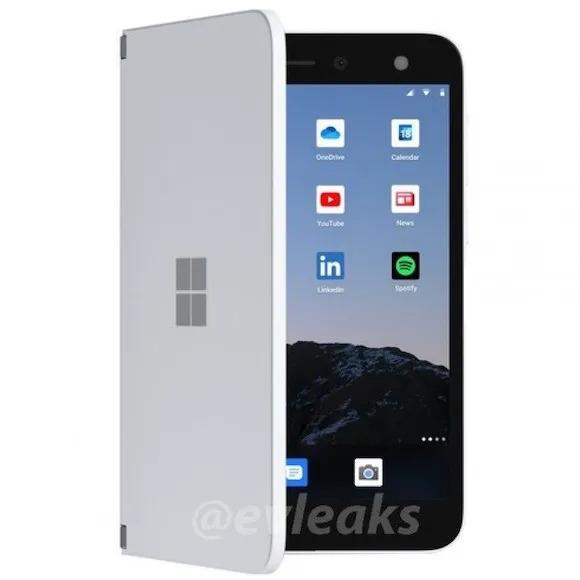 2 17 - 【悲報】Microsoftの2画面Androidスマホ、お値段15万円!
