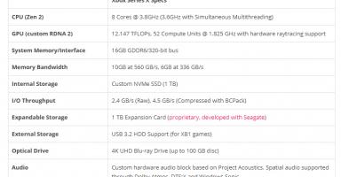 8 2 384x200 - XboxシリーズXの発売日が11月5日に決定! PS5と比べてCPUは3%、GPUは16%強力