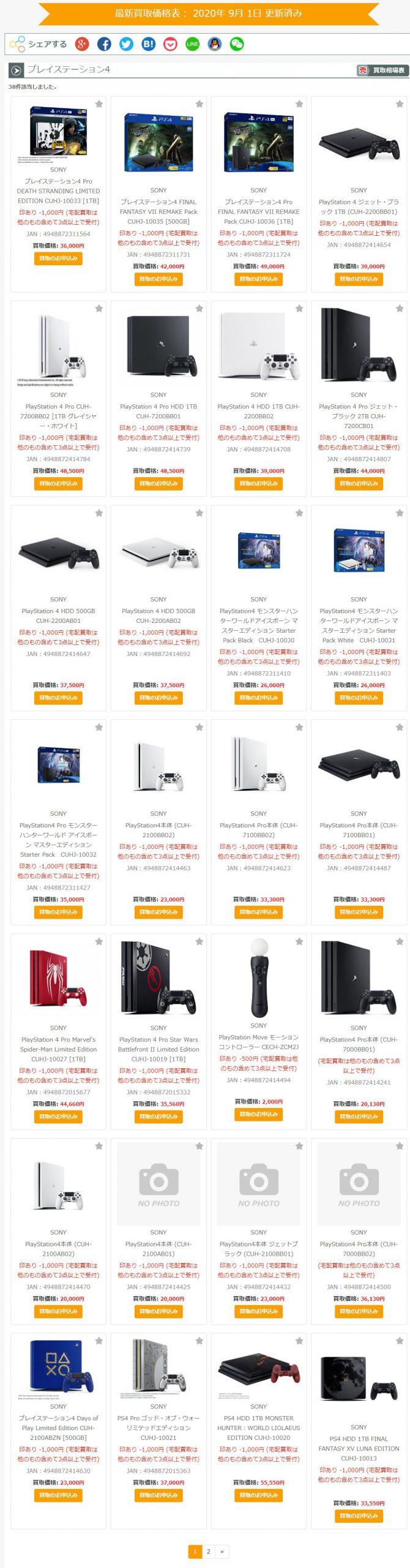 11 scaled - 【朗報】PS4:買取48,000円、PS4Pro:買取50,000円wwwwwww【転売】