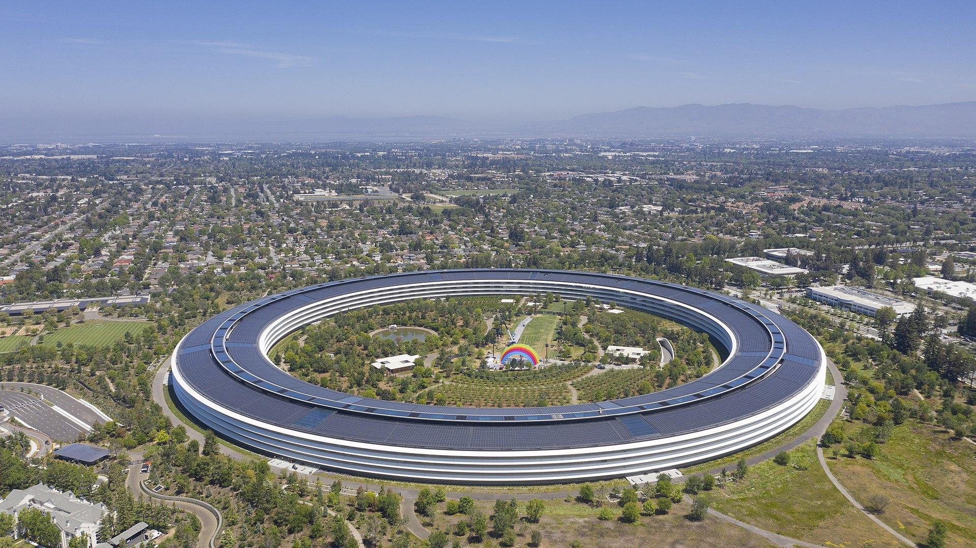 1920px Apple park cupertino 2019 - 任天堂の本社がすごい