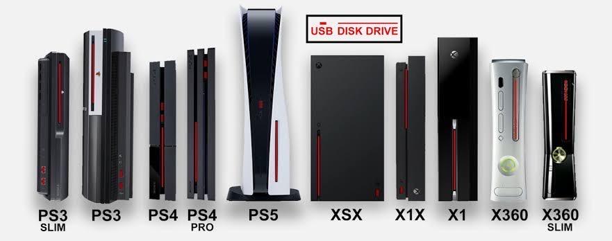 2hTPWle - 【ルックス対決】XBOXとPS5、どっちのデザインが好き?どっちを家に置きたい?