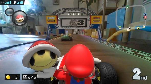 9 3 - Nintendo Switch「マリオカート ライブ ホームサーキット」10月発売 おもちゃと連動したARゲームに