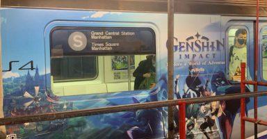 1 35 384x200 - 【画像】ゲーム「原神」のえちえち広告、NYやベルリンの駅に登場wwwwwwww 客「🥶」