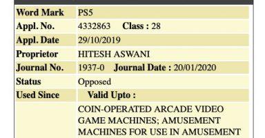 17467bfe 384x200 - ソニー、インドで「PS5」の商標を取得できず! 発売の目処立たず