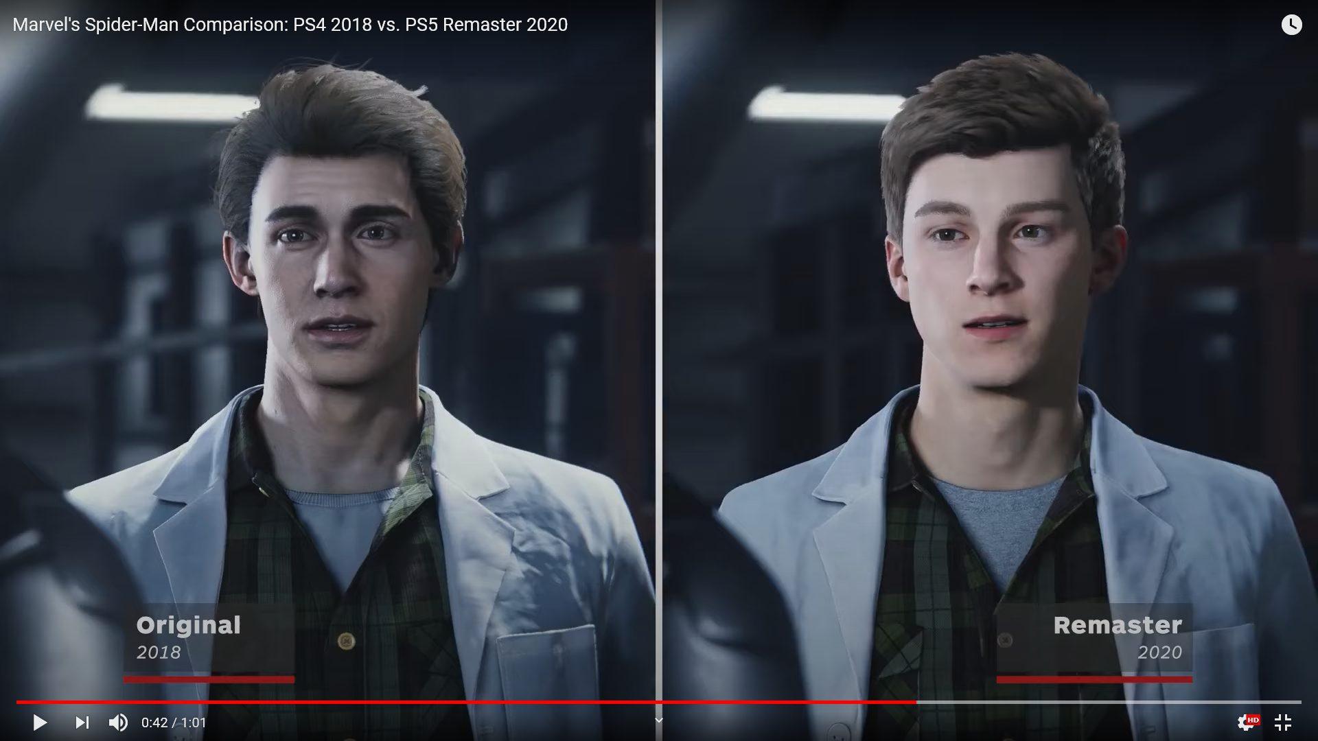 3VqMDGb 1 - PS5スパイダーマン、主人公ピーターの顔が変わって炎上中