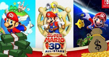 6 384x200 - 【任天堂】マリオ3DコレクションがSwitch第2位の初週売上を記録、スマブラを70%も上回る
