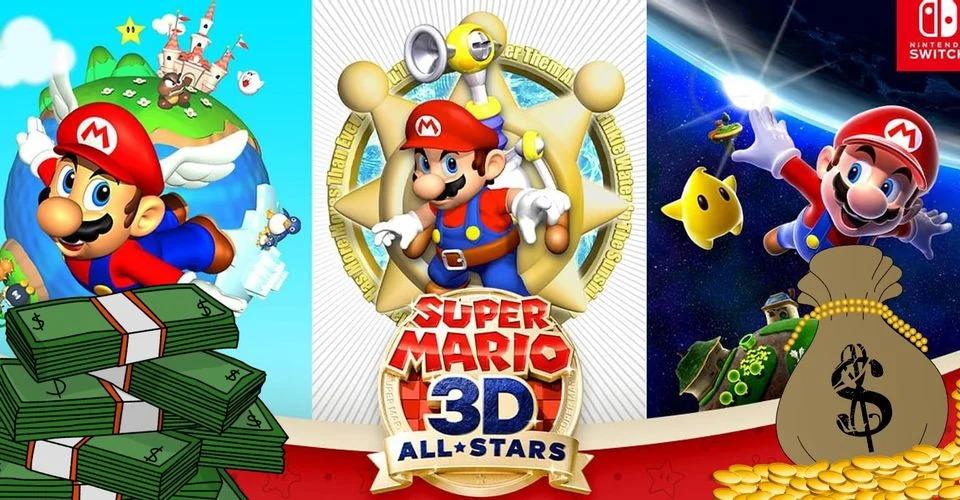 6 - 【任天堂】マリオ3DコレクションがSwitch第2位の初週売上を記録、スマブラを70%も上回る